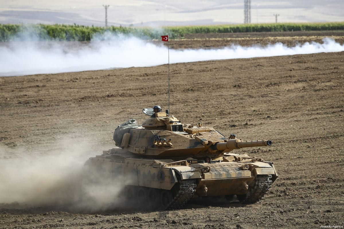 Turkish army tanks in Idlib, monitoring zones established