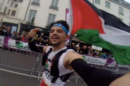 Mohammad Alqadi, Palestinian-born marathon runner [Twitter]