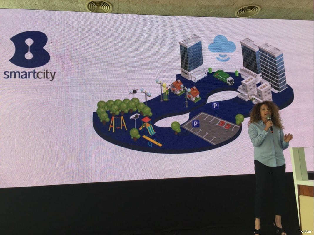 Stella Handler, CEO of Israeli telecommunications BezeqBezeq Stella Handler [Twitter]