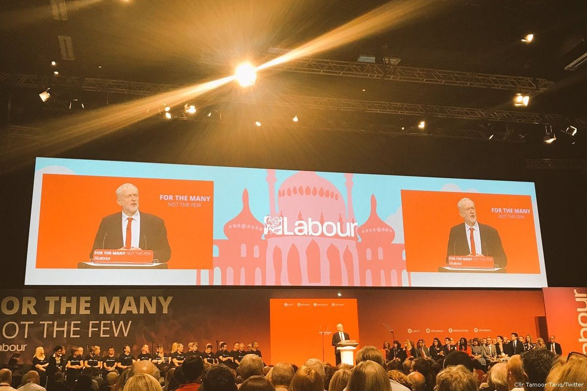 Labour Party conference 2017 in Brighton, UK [Cllr Tamoor Tariq/Twitter]