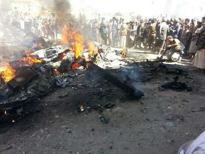 Bombing by Houthis in Yemen [Hussain Albukhaiti]