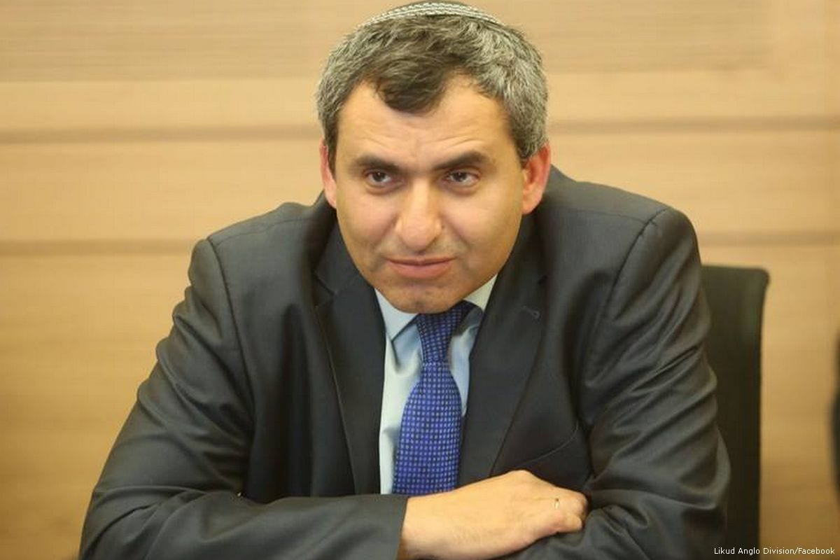 Jerusalem Affairs Minister Ze'ev Elkin [Likud Anglo Division/Facebook]