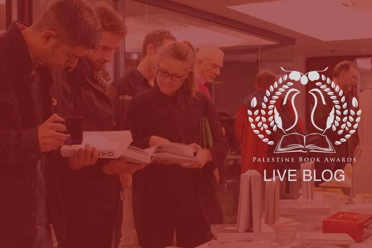 Palestine Book Awards 2017 - Live Blog