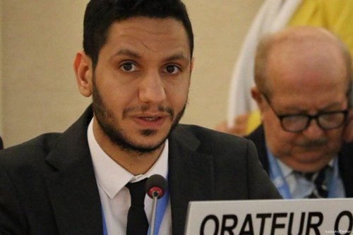 Sayed Alwadaei, an exiled Bahraini human rights activist [lualuatv/Twitter]