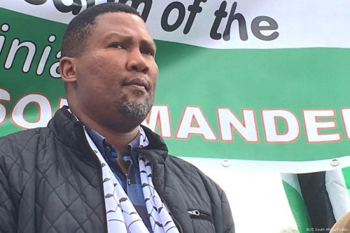 Nelson Mandela's grandson, Chief Mandla Mandela MP [BDS South Africa/Twitter]