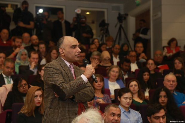 Audience members at MEMO's 'Saudi in Crisis' conference, on November 19, 2017 [Middle East Monitor]