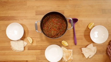 Fasoolya Bel Zait - You've Been Served - Recipes from the Middle East