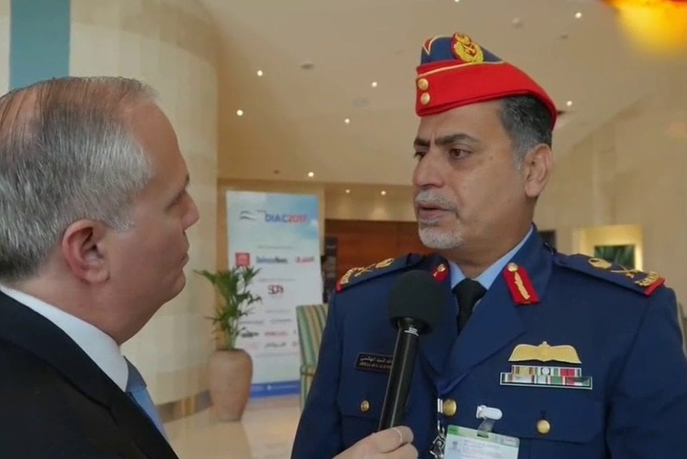 Staff Maj. Gen. Pilot Abdullah Al Hashmi. [Defence & Aerospace Report/YouTube]