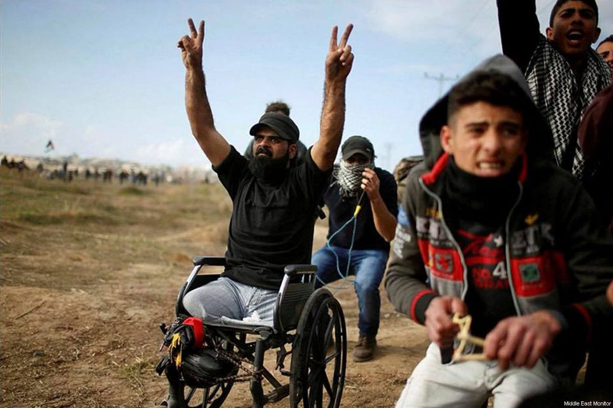 "Afbeeldingsresultaat voor Israeli Army Finds ""No Evidence"" It Killed Disabled Gaza Protester"