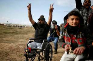 Ibrahim Abu-Thurayya, 29, killed by an Israeli sniper during a protest by Palestinians against Trump's announcement on Jerusalem, which was met with violent Israeli dispersal tactics at the Gaza-Israel border, on Friday, December 15, 2017 [ Middle East Monitor]