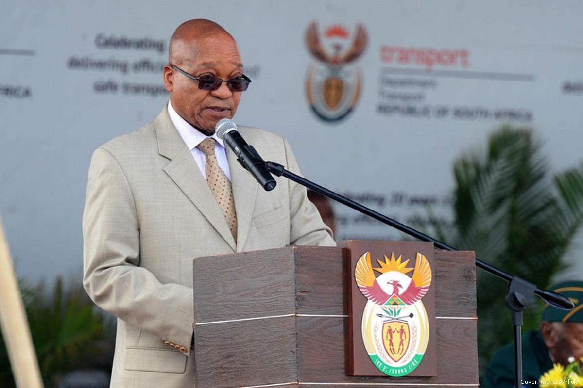 South African President Jacob Zuma [GovernmentZA/Flickr]
