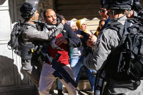 Israel violently quashes Palestinian protests
