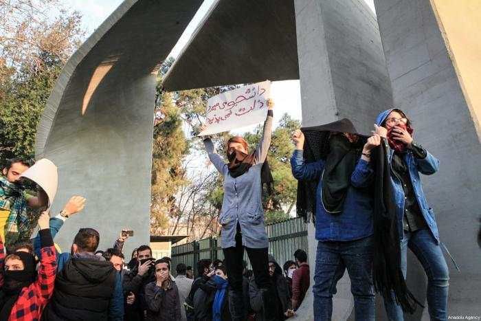 Despite protests Iran is set to maintain its interventionist regional policy