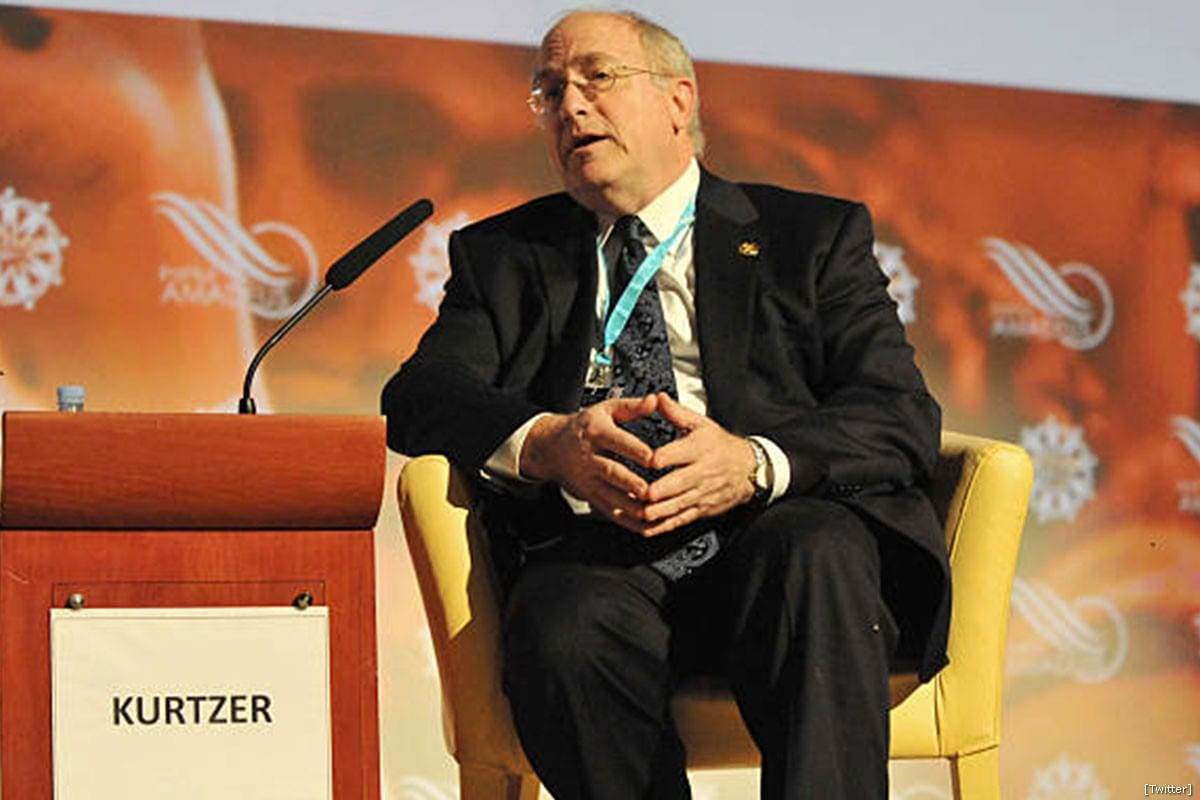 Daniel C. Kurtzer, who was the ambassador from 2001 to 2005, under President George W. Bush [Twitter]