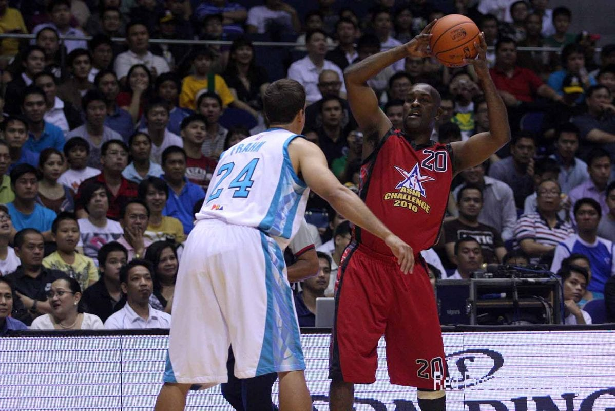 Gary Paton playing in the NBA Asia Challenge 2010 in the Philippines [inboundpass / Flickr]