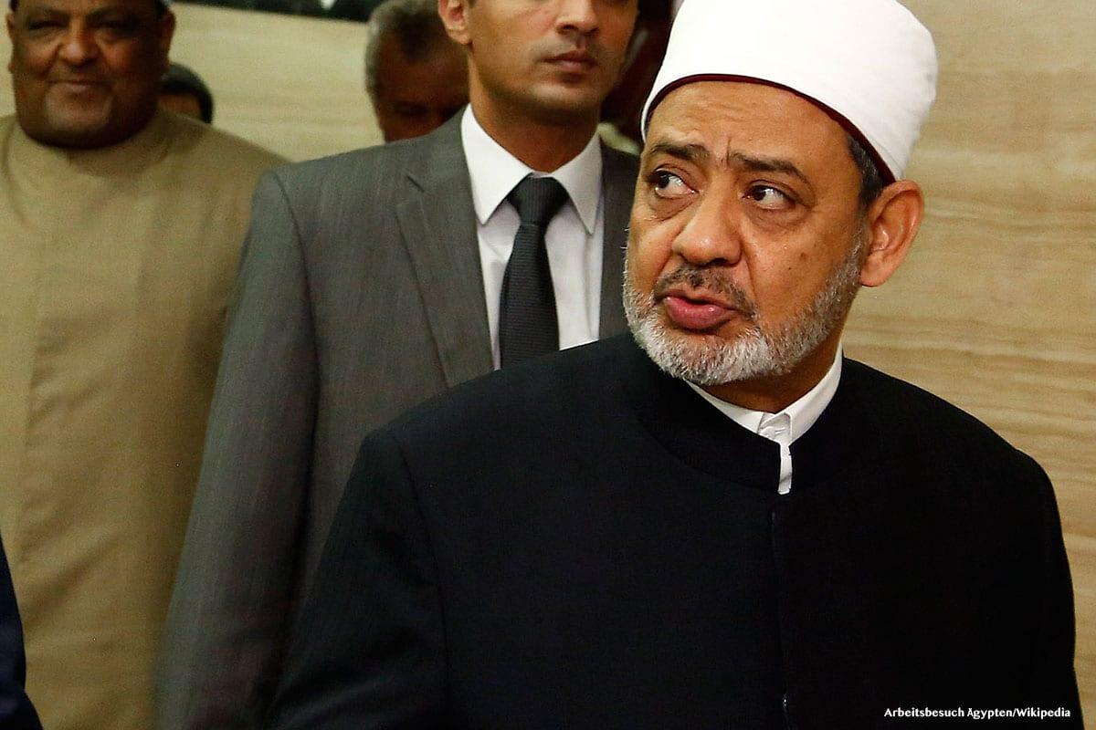 The Grand Imam of Egypt's Al-Azhar, Sheikh Ahmad Al-Tayeb [ Arbeitsbesuch Ägypten/Wikipedia]
