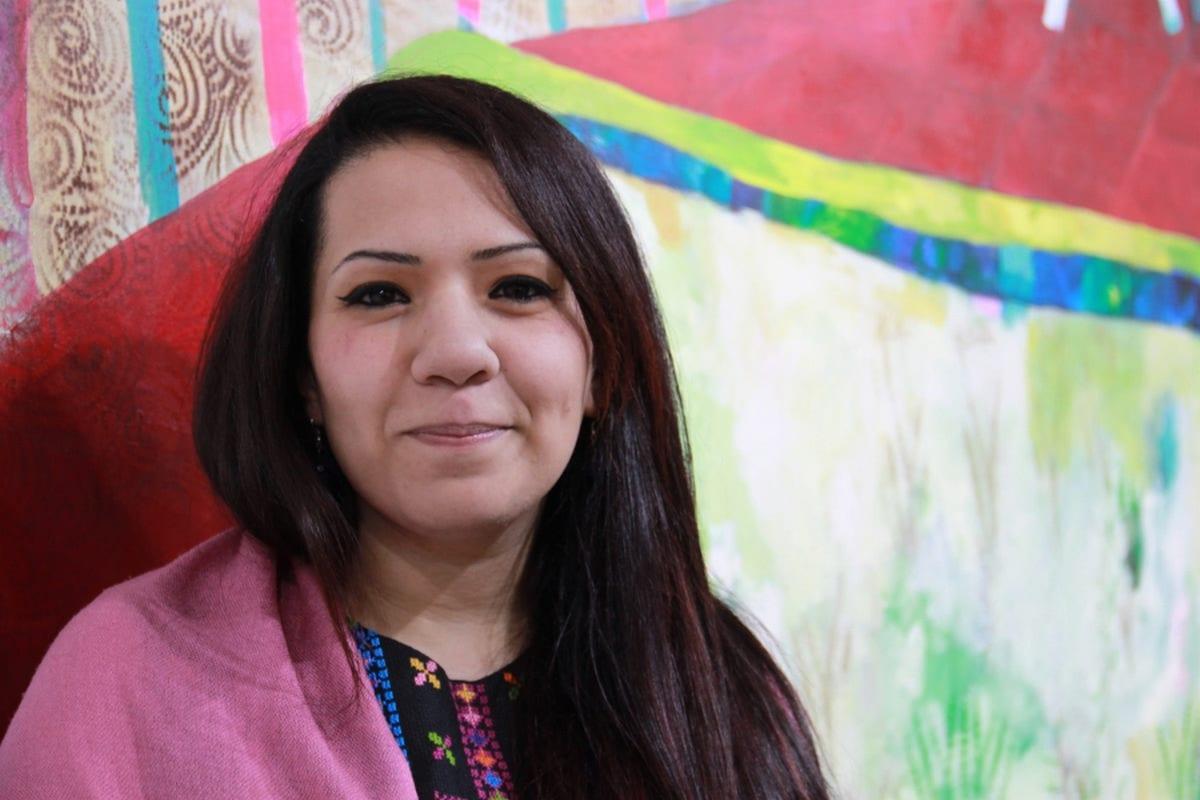Palestinian artist Rana Samara