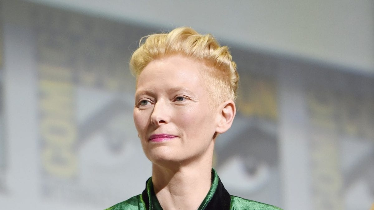 Actress Tilda Swinton [Wikipedia]