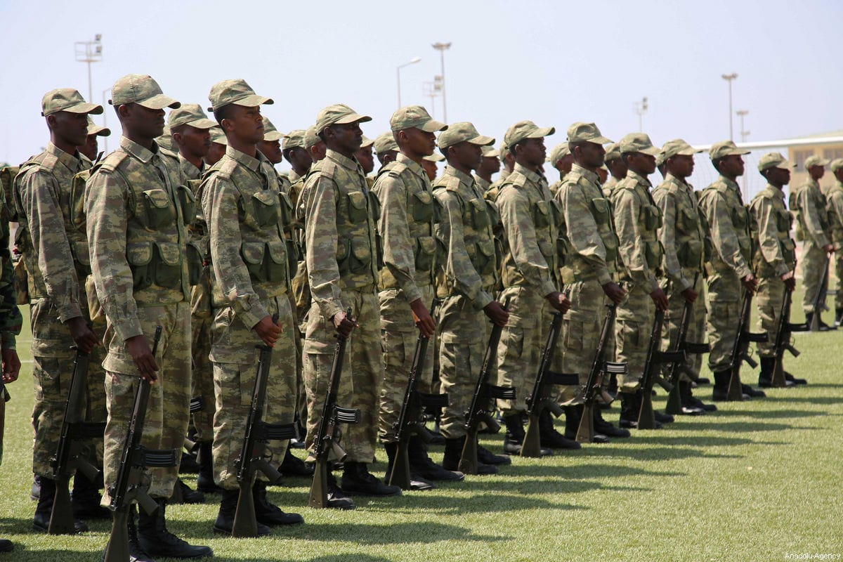 92a398378 500 Somalis 'graduate' from UK military training centre – Middle ...