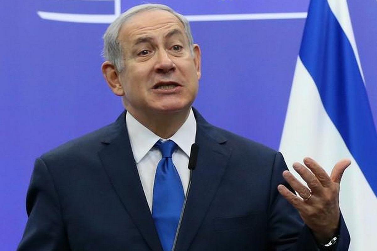 Israeli Prime Minister Benjamin Netanyahu in Brussels, Belgium on 11 December 2017 [Dursun Aydemir/Anadolu Agency]