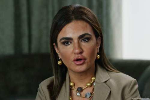 Egyptian Minister of Investment and International Cooperation, Sahar Nasr [Egypt Forward/YouTube]