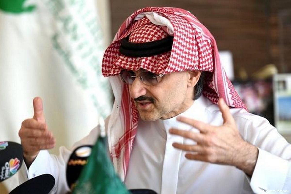 Saudi Prince Al-Waleed bin Talal [Syed Saleem/Facebook]