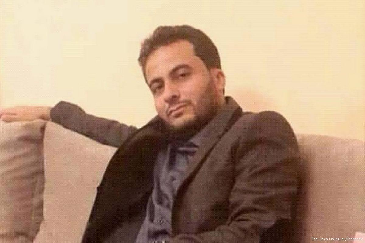 An education official, Salah Al-Qatrani [The Libya Observer/Facebook]