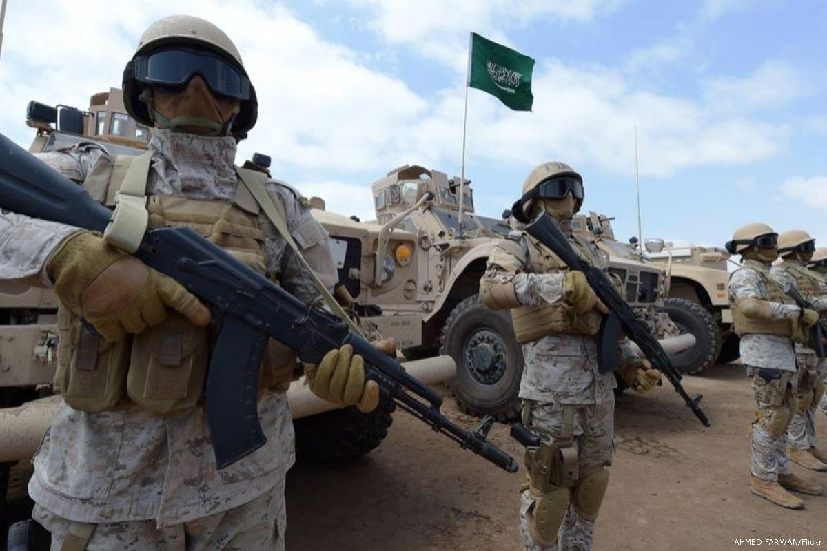 Saudi forces [AHMED FARWAN/Flickr]