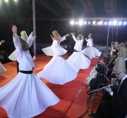 Turkish whirling dervishes perform in Bangladesh