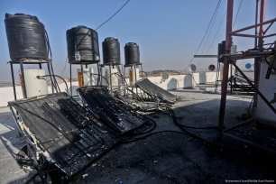 2018_2-2-Israel targets Gaza area just reconstructed after 2014 war4O6A7938