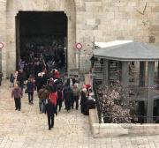 Israel completes watchtower at Damascus Gate in Jerusalem