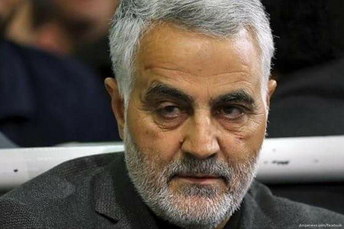 Iranian Quds Force commander Qasem Soleimani [dimpenews.com/Facebook]