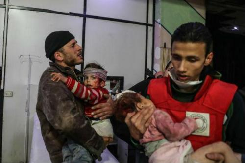 More bombs hit Syria's Ghouta after heaviest death toll in years