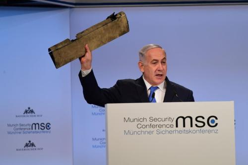 Listen carefully Mr Netanyahu: real statesmen don't need props