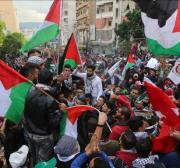 Protest in Tunisia against normalisation with Israeli occupation
