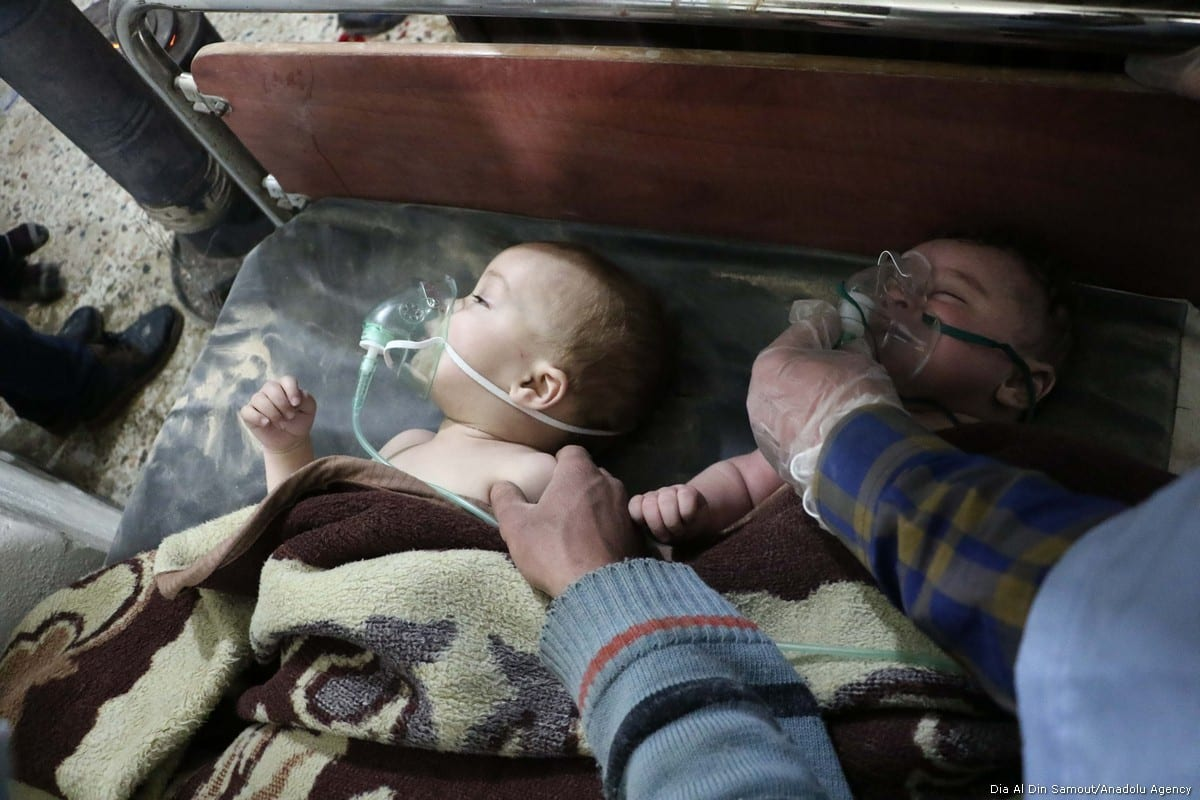 Syria: Over 300 chemical attacks by Assad forces, says ...