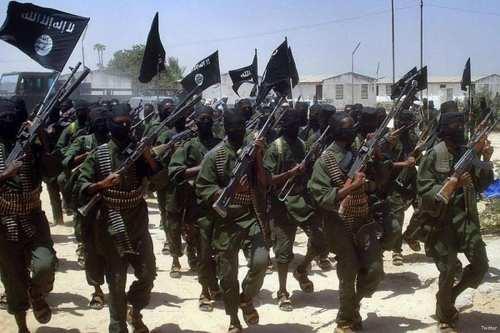 Al-Shabaab militants [Twitter]