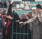 2 trucks of goods enter Gaza as Egypt opens Rafah crossing