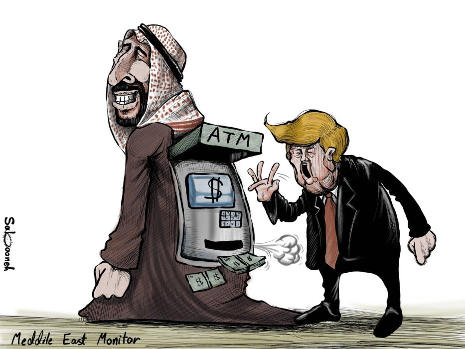 """El presidente de los Estados Unidos, Donald Trump: las relaciones entre Arabia Saudita y los Estados Unidos son """"más fuertes que nunca"""""""