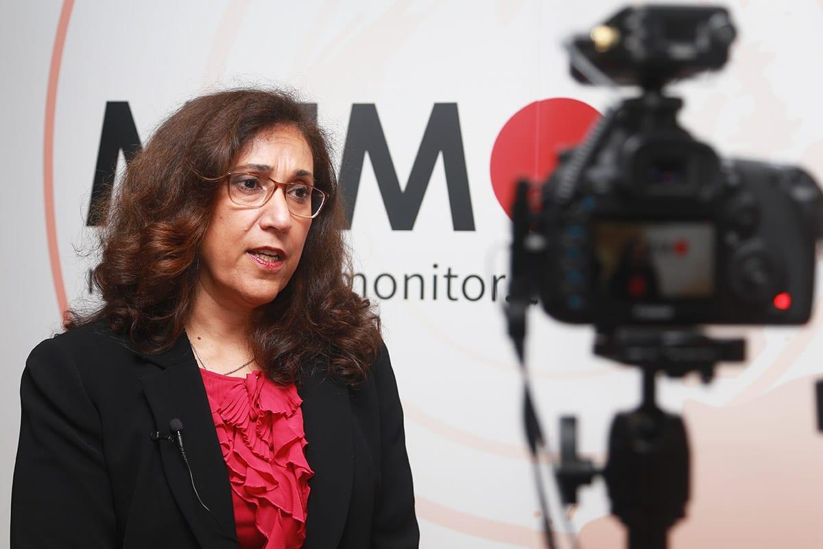 Prof Madawi Al-Rasheed, at MEMO's 'Saudi in Crisis' conference, on November 19, 2017 [Middle East Monitor]