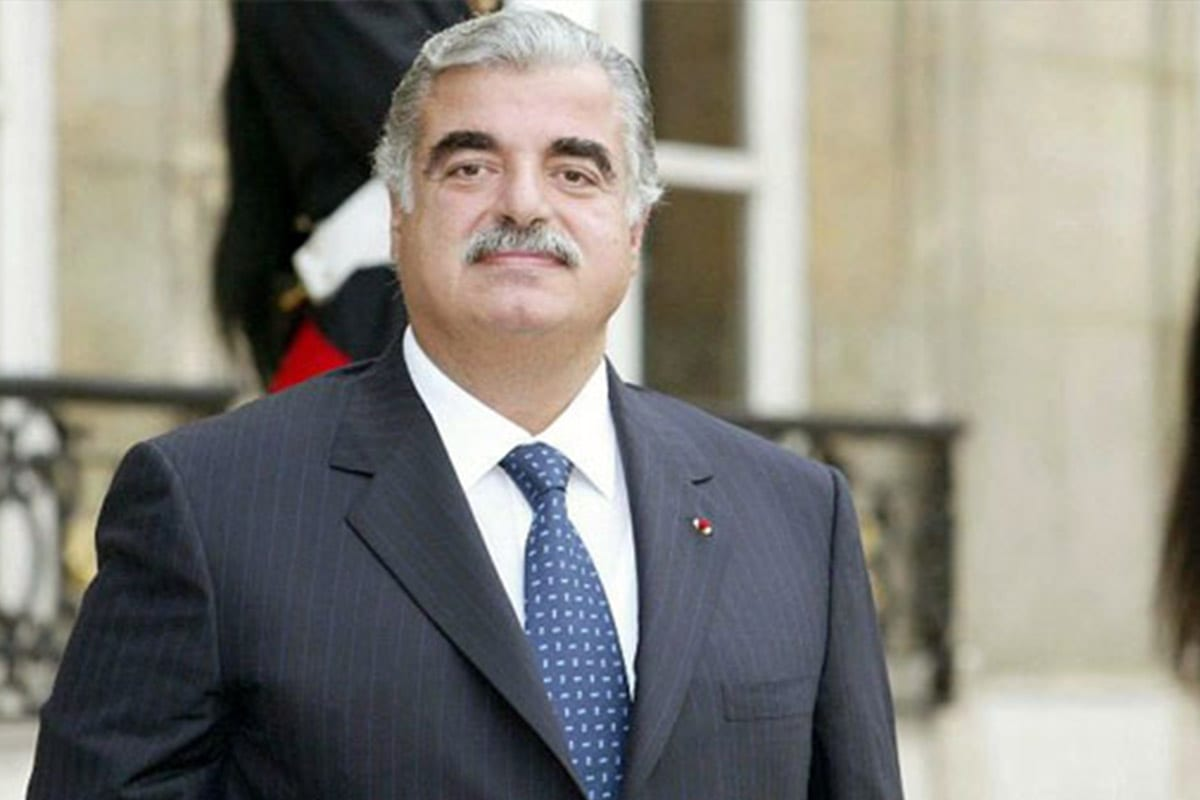 Rafic Hariri, Lebanese business tycoon and the Prime Minister of Lebanon from 1992 to 1998. He was assassinated on 14 February 2005 in Beirut, Lebanon [Wikipedia]
