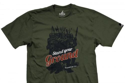 An Austrian embassy employee was recalled from Israel after posting a picture wearing a T-shirt that said 'Frundsberg', a German Waffen SS armoured division during World War Two