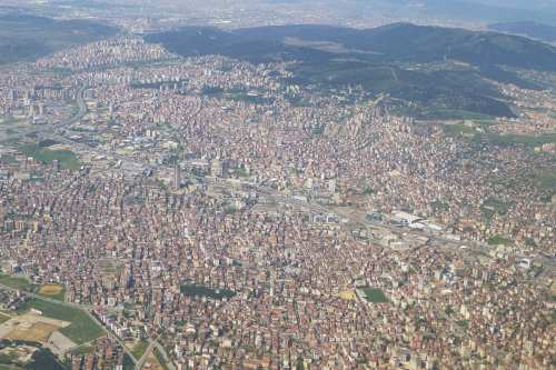 An aerial view of the part of Istanbul that lies on the Asian continent, as seen on April 28, 2013 [Ji-Elle / WikiMedia]