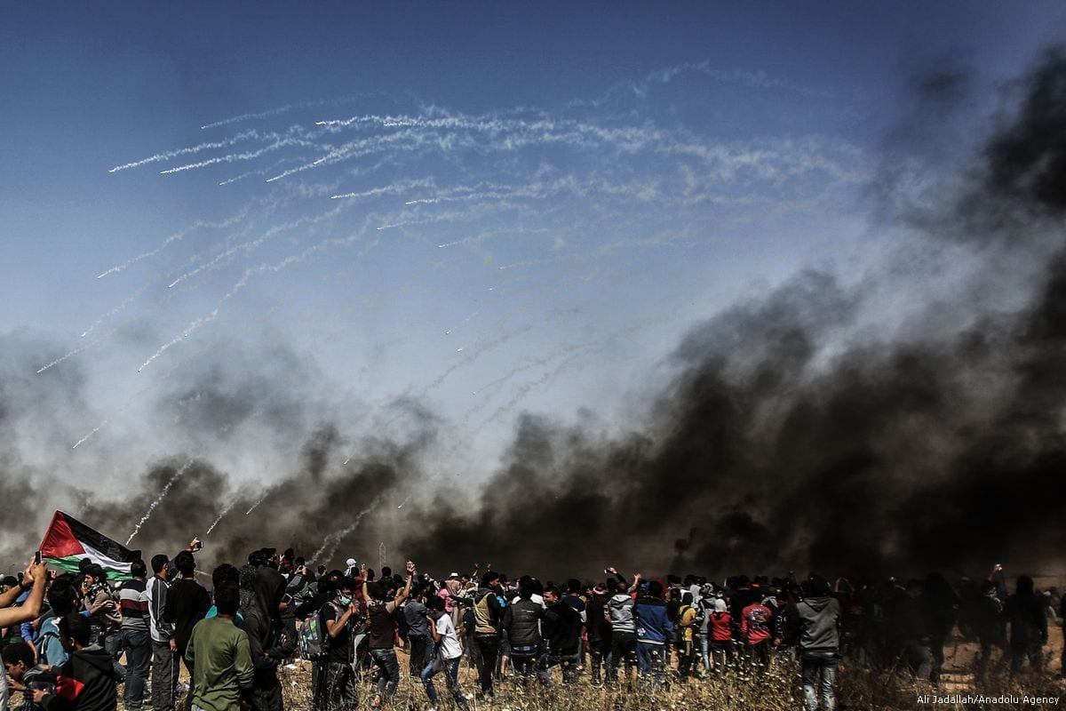 gaza Great march of return