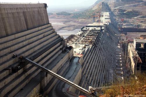 Ethiopian Renaissance Dam [Ethio Embassy Rwanda/Twitter]