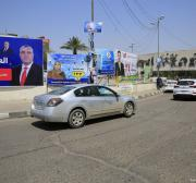 Disgruntled citizens deface Iraq's billboard men