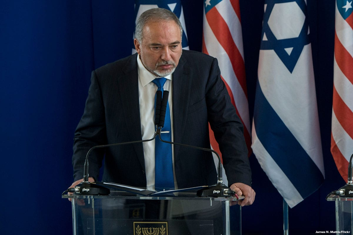 Israeli Defence Minster Avigdor Lieberman [James N. Mattis/Flickr]