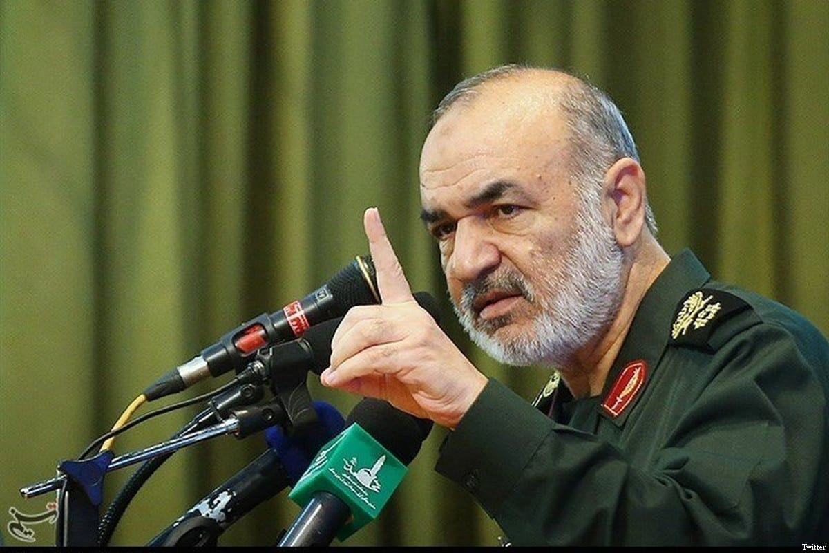 Deputy Commander-in-Chief of the Iranian Revolutionary Guards, Brigadier General Hossein Salami [File photo]