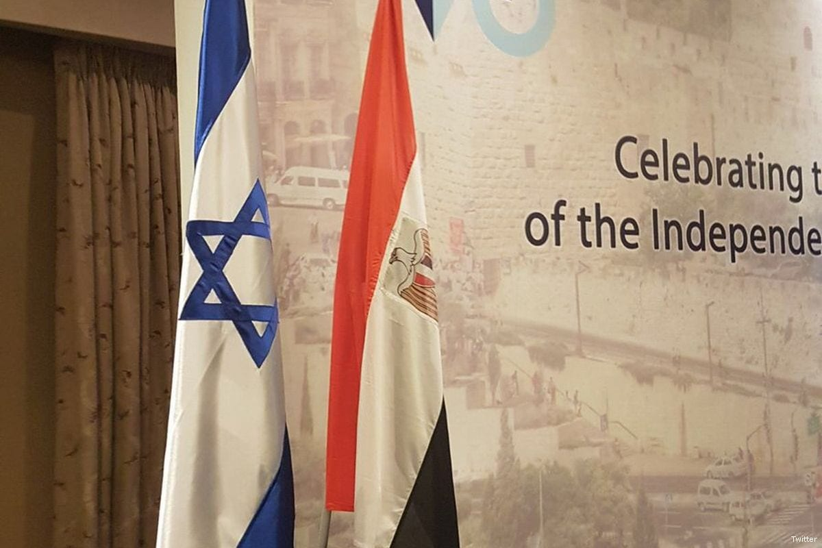 The celebration of the 70th anniversary of Israel's founding at Nile Ritz Carlton hotel in Cairo, 8 May 2018 [Israel Foreign Ministry/Twitter]