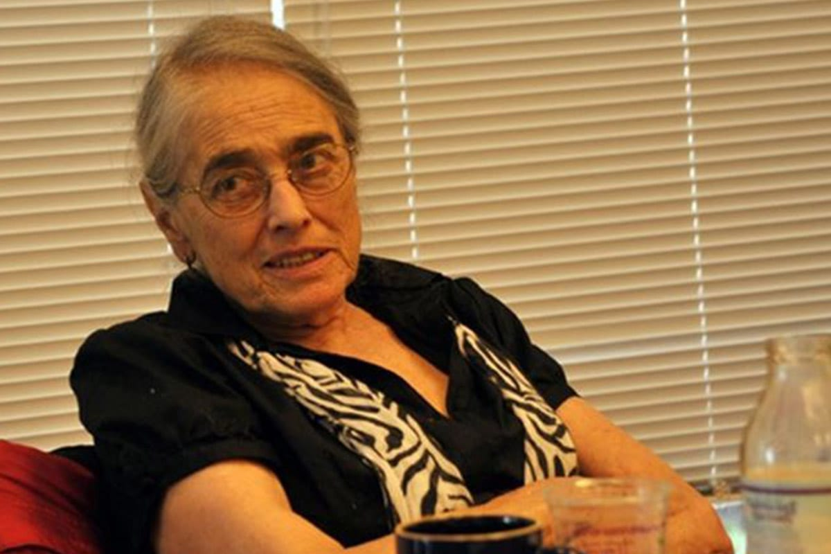 Eight-two-year-old American Jewish Professor Evelyn Fox Keller [palinfo.com]